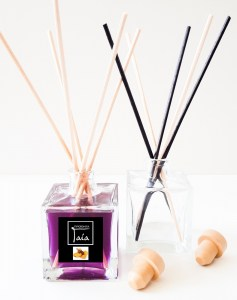 Reed Diffuser Άρωμα Spiced Orange, Διαλύτης & Μπαμπού Sticks - Ready To Use
